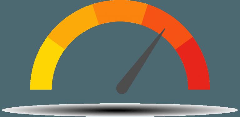 Orientační výkon webu