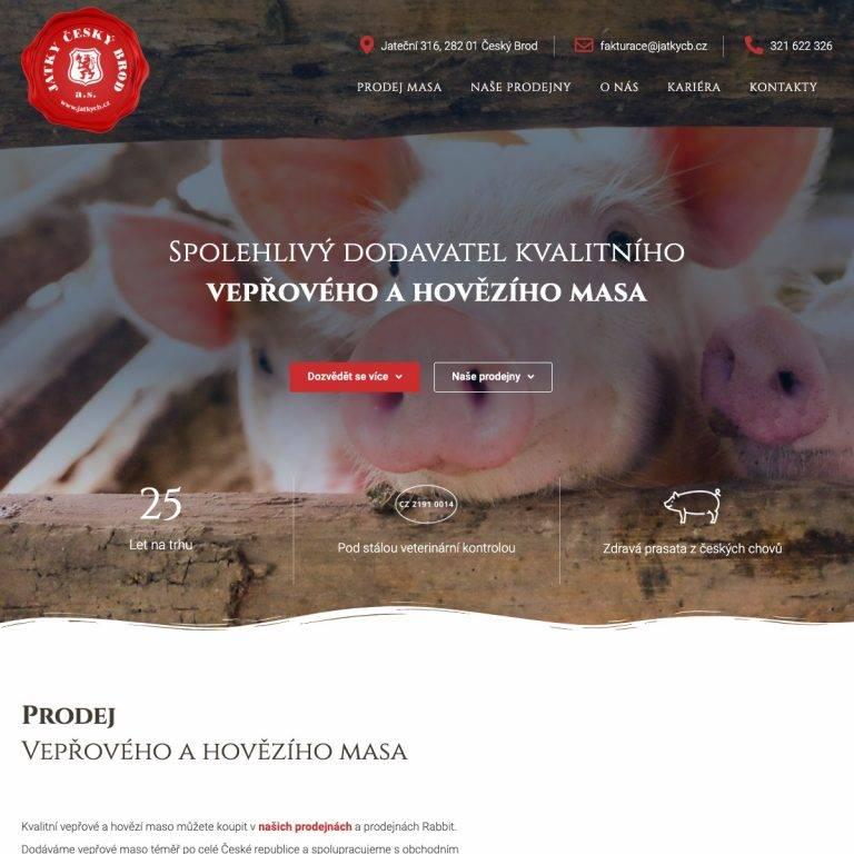 Tvorba webu Premium pro Jatky - Český Brod | Netpromotion