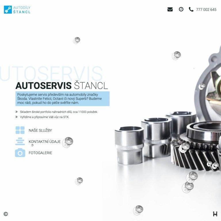 Tvorba webu Smart pro Auoservis Štancl - Jihlava | Netpromotion