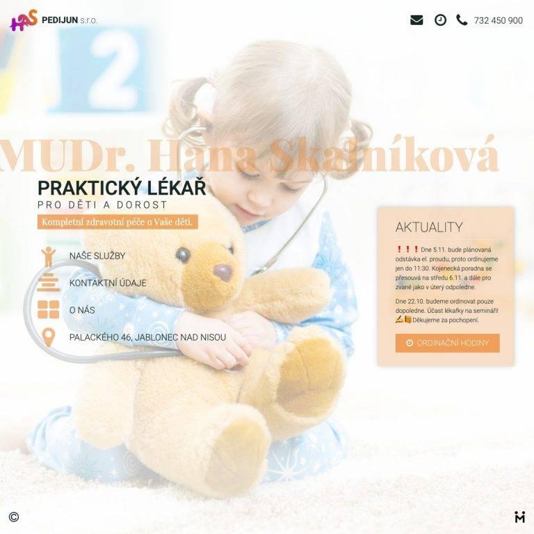 Tvorba webu Smart pro MUDr. Hana Skalníková - Jablonec nad Nisou | Netpromotion