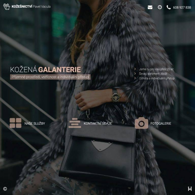 Tvorba webu Smart pro Kožešnictví Pavel Vacula - Uherský Brod | Netpromotion
