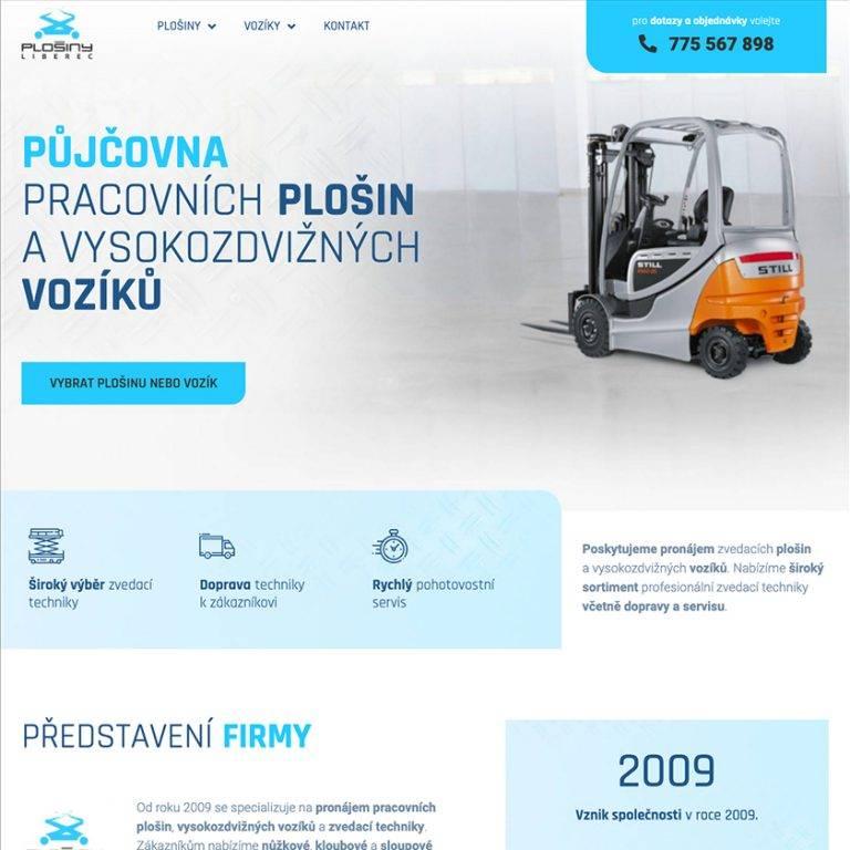 Plošiny – Liberec s.r.o